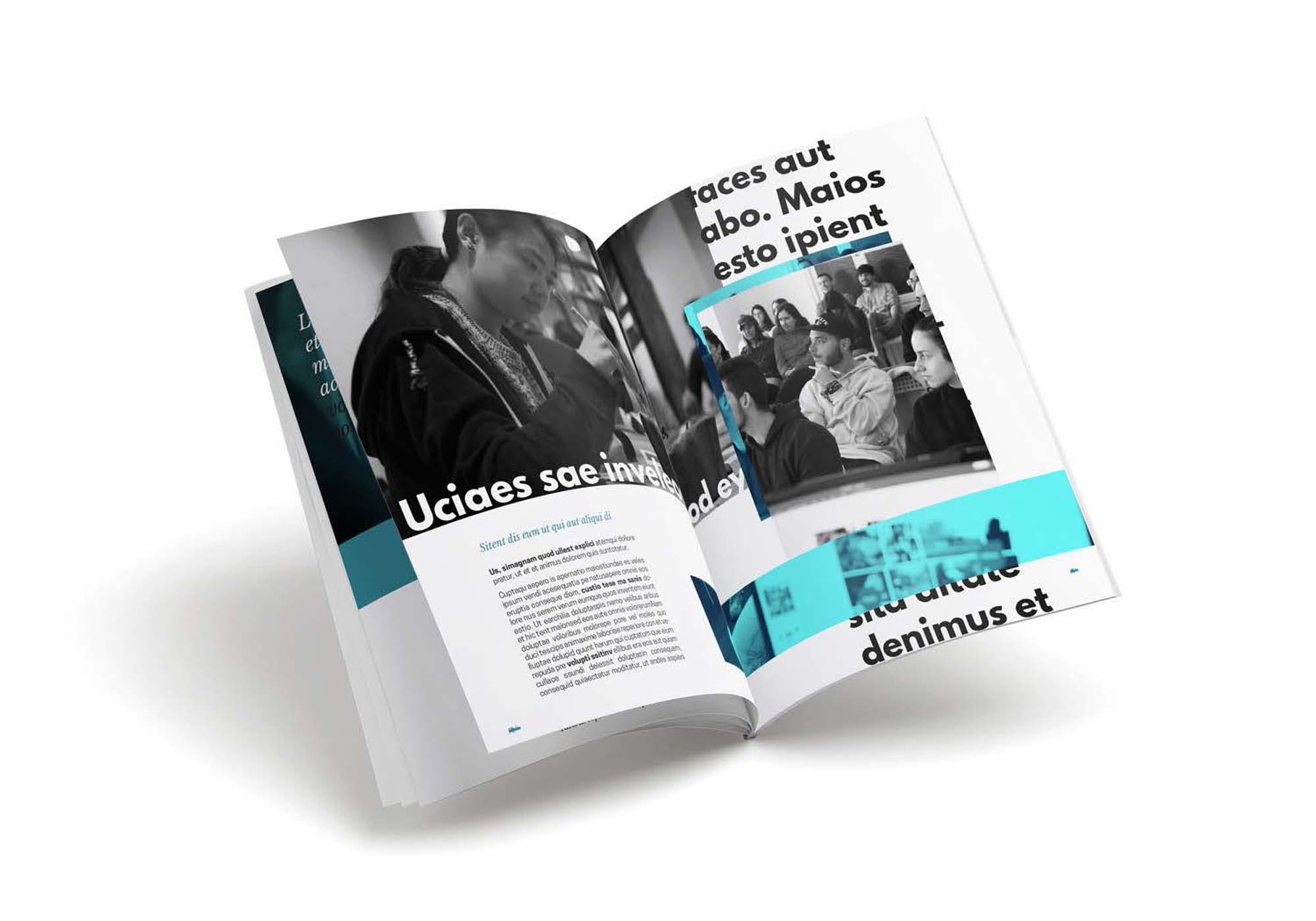 Diseño del Anuario de ESADA para el curso 2019 - 2020