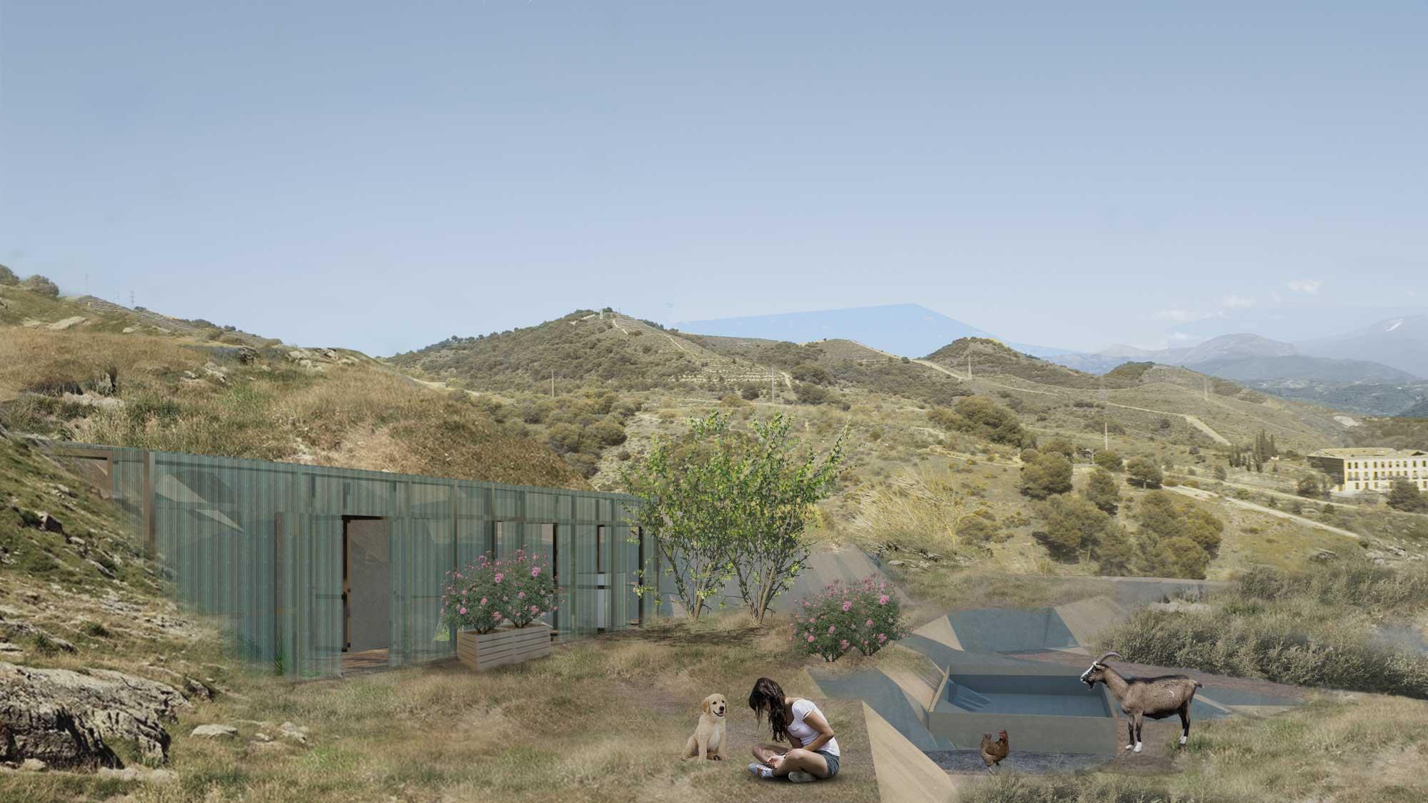 MI CASA TROGLODITA: Adecuación de una casa cueva sostenible en el Sacromonte