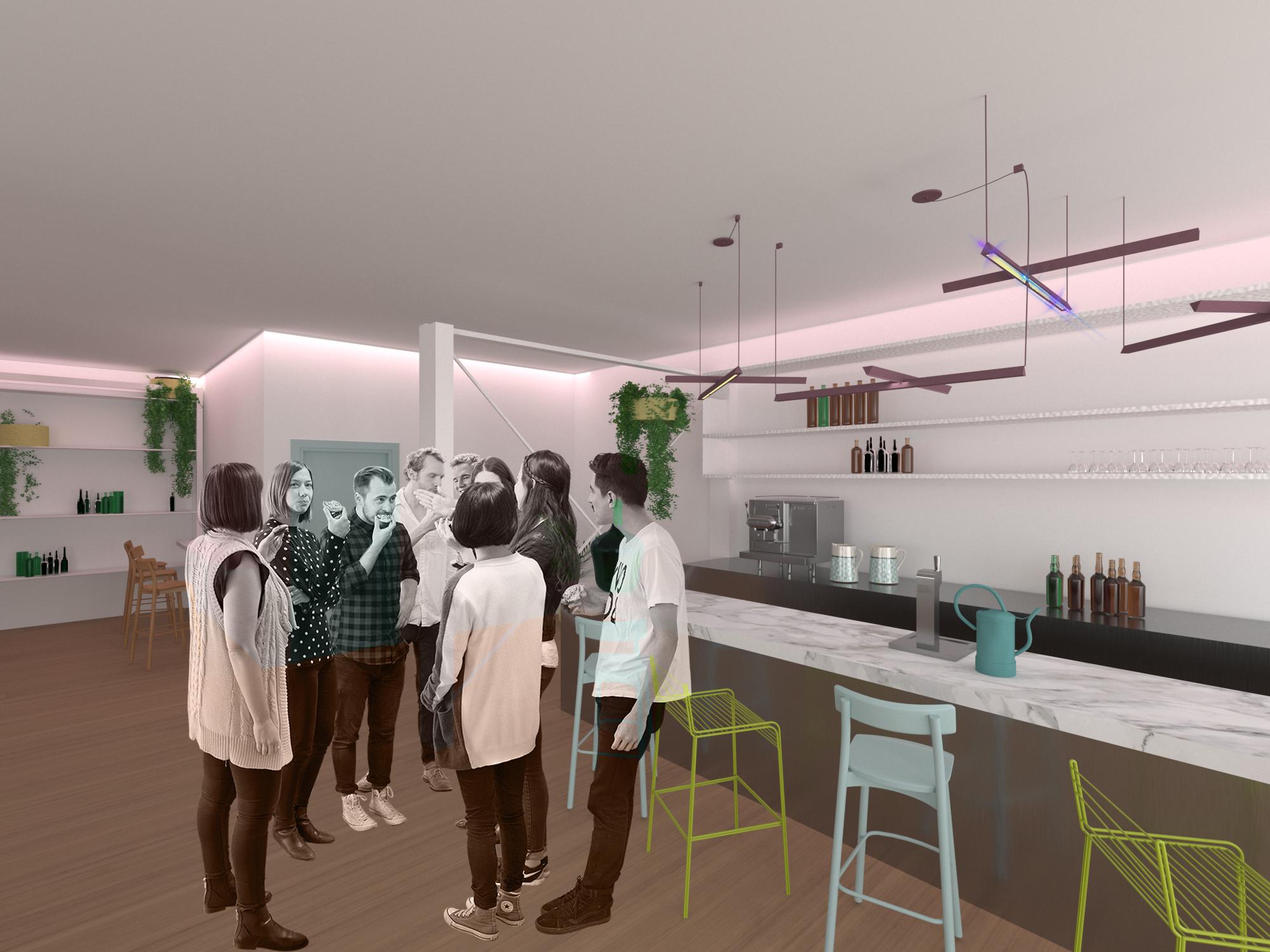 Diseño de un restaurante