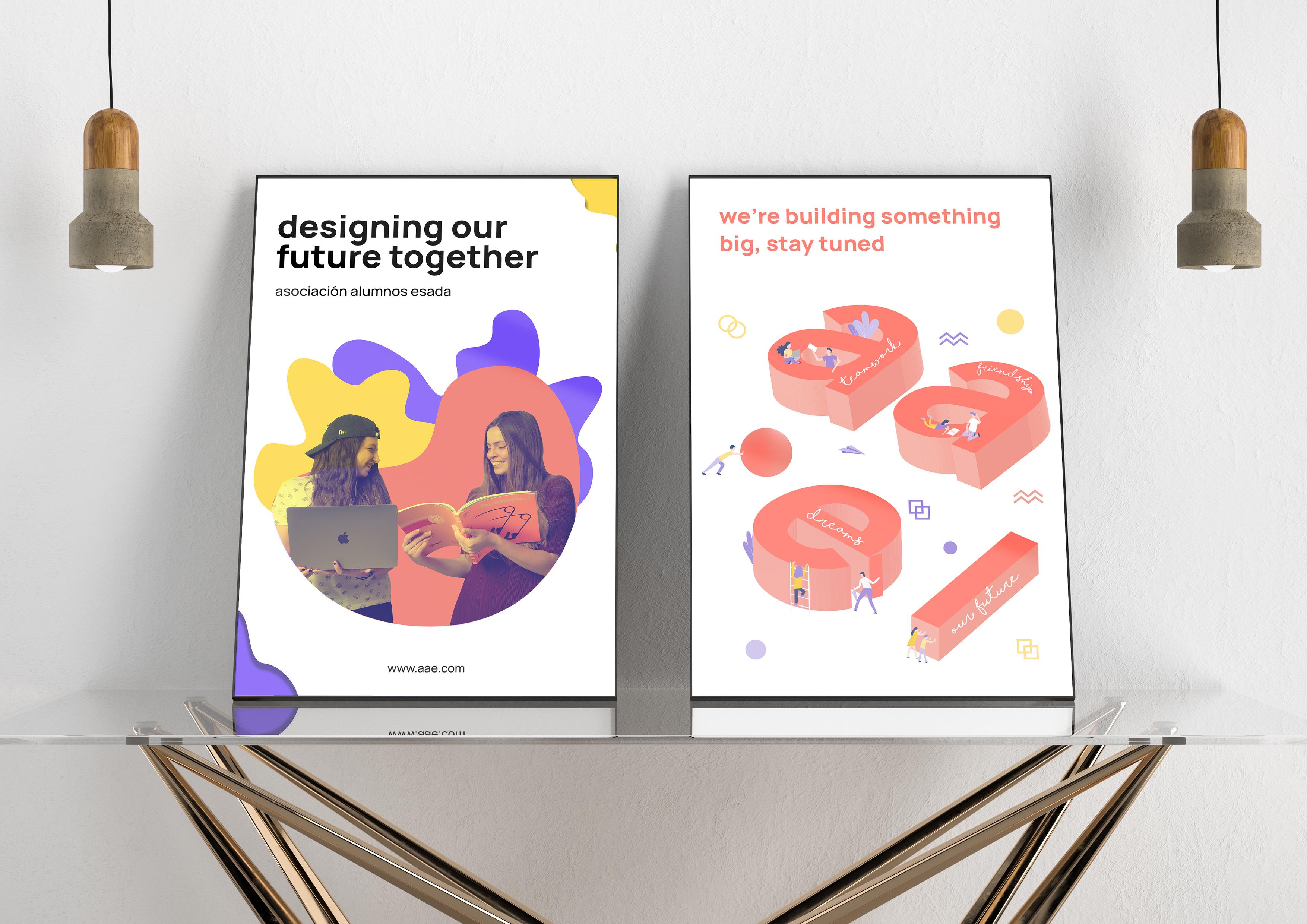 Diseño de la web de la Asociación de Alumnos de ESADA