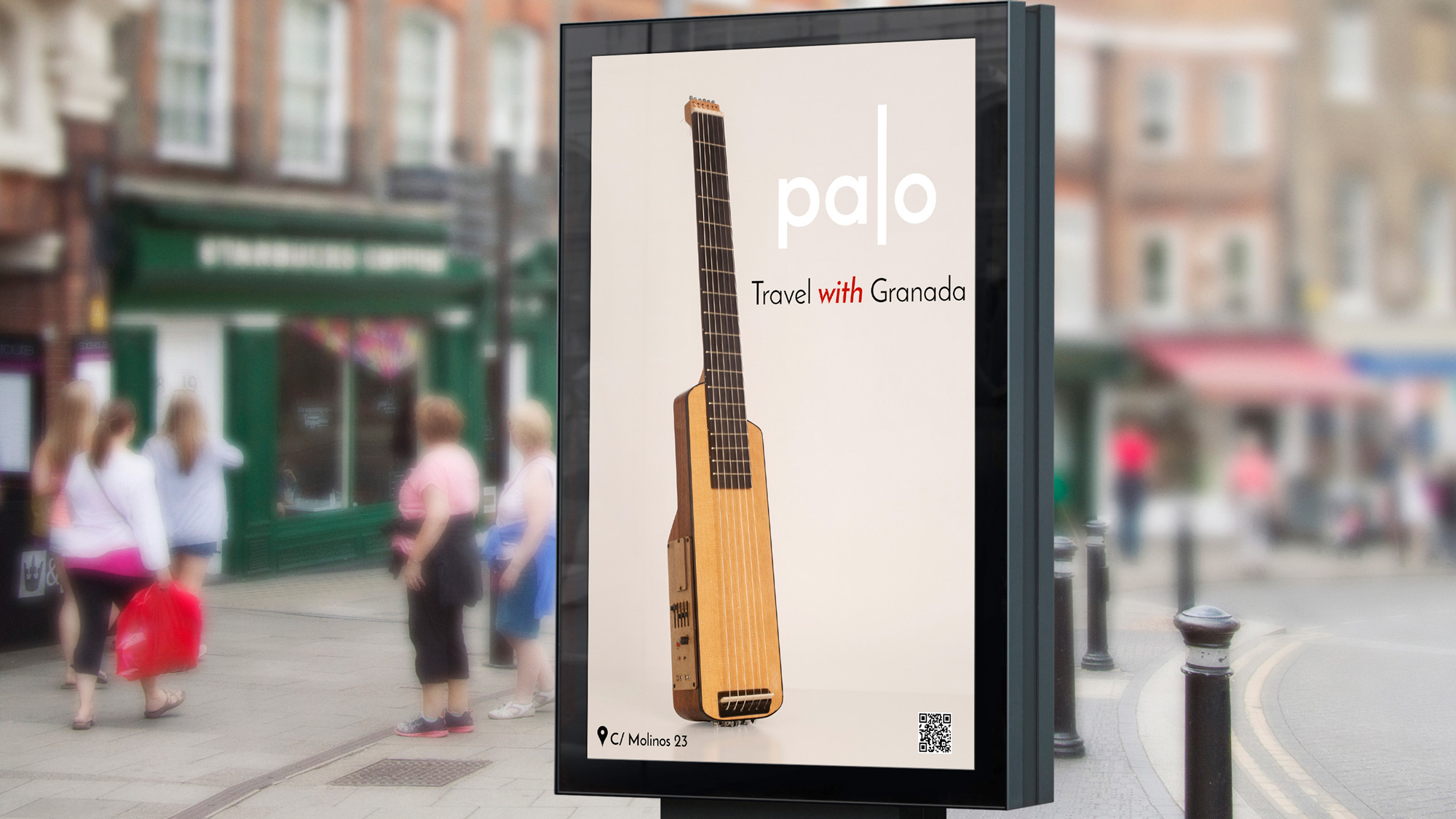 Palo, una guitarra clásica para un estilo de vida nómada